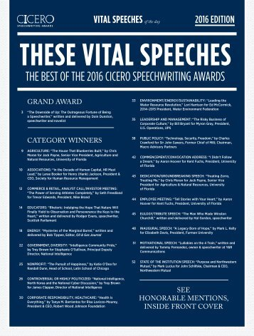 THESE VITAL SPEECHES