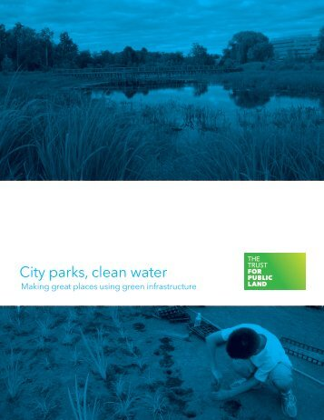 City parks clean water