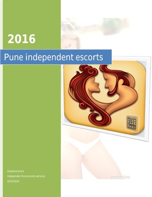 Women seeking men at Pune independent escorts services
