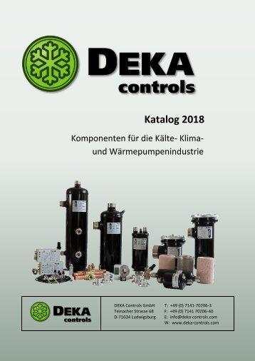 DEKA Controls Katalog 2018