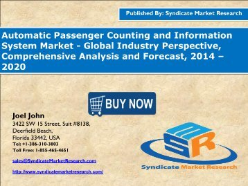Automatic Passenger Counting and Information System Market