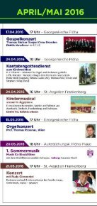 Kirchenmusik April bis Sepetmber 2016 - Page 2