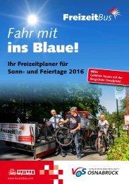 FreizeitBus Broschüre 2016