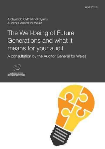 The Well-being of Future Generations and what it means for your audit