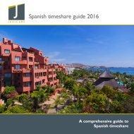 Spanish timeshare guide 2016