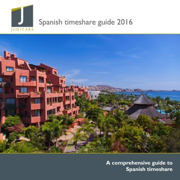 Spanish timeshare guide 2016