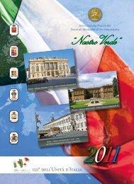 """Nastro Verde: calendario 2011, """"150º dell'Unità d'Italia"""""""