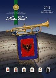 """Nastro Verde: calendario 2012, """"La musica militare"""""""