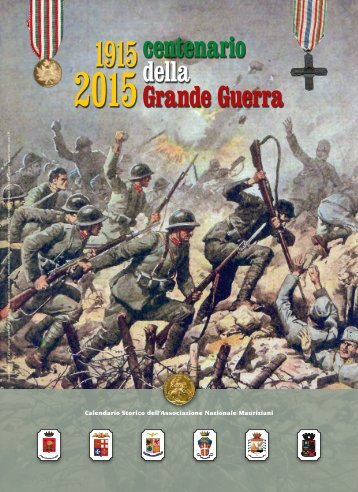 """Nastro Verde: calendario 2015, """"Centenario della Grande Guerra"""""""
