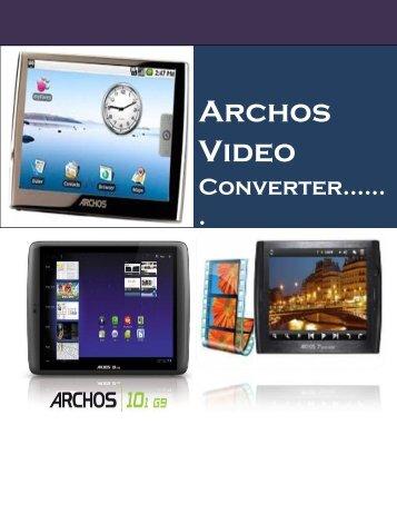 Archos video converter