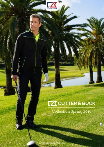 Каталог Cutter & Buck 2016