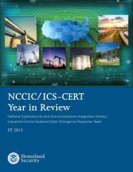 NCCIC/ICS-CERT Year in Review
