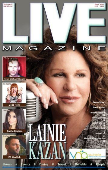 LIVE Magazine #233 April 22 -May 6 2016
