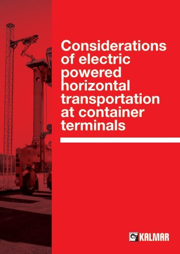 transportation at container terminals