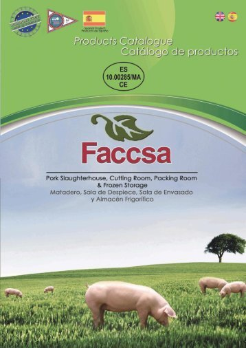CATALOGO FACCSA CASTELLANO INGLES REV 3