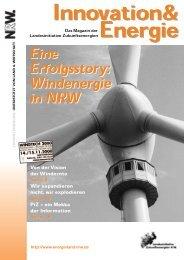 Windenergie in NRW - NRW spart Energie
