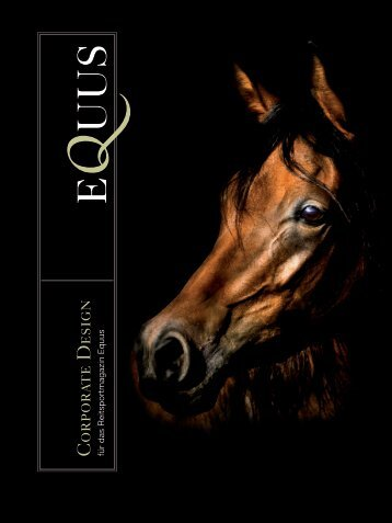 Corporate Design des Magazins EQUUS