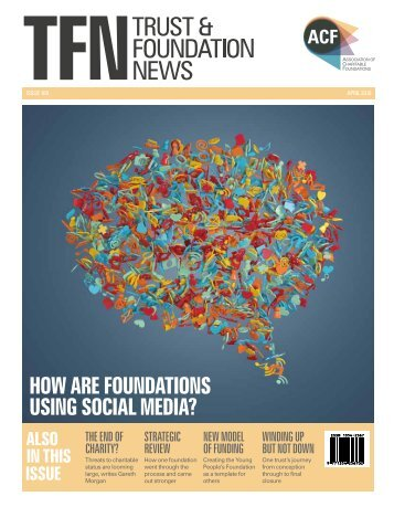 how are foundations using social media?