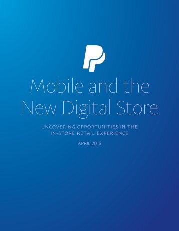 Mobile and the New Digital Store