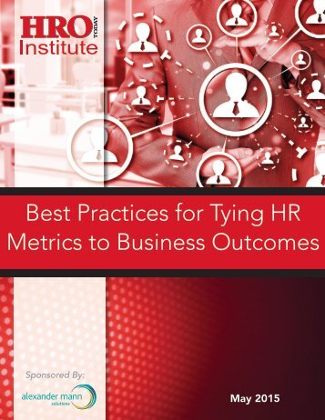 Best Practices for Tying HR Metrics to Business Outcomes