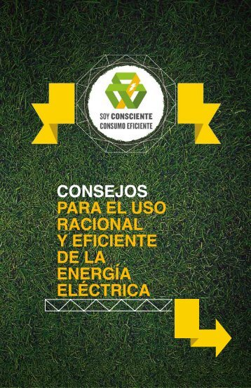 consejos para el uso racional y eficiente de la energía eléctrica