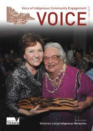 Voice of Indigenous Community Engagement - Department of ...
