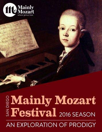 Mainly Mozart Festival