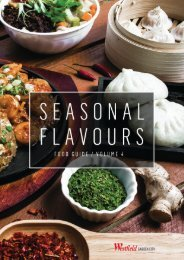 Seasonal Flavours Guide Volume 4 - 2016