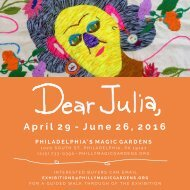 Dear Julia Exhibition Catalogue