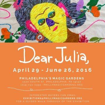 Dear Julia Exhibition Catalogue