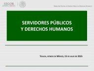 SERVIDORES PÚBLICOS Y DERECHOS HUMANOS