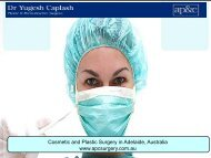 Affordable Plastic Surgery and Cosmetic Surgery in Adelaide