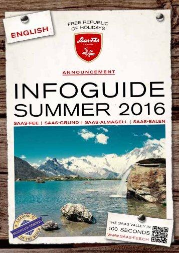 Infoguide Summer 2016