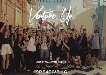 2016 PROGRAMME REPORT