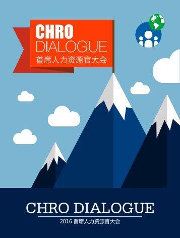 CHRO DIALOGUE