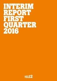 Interim Report First Quarter 2016