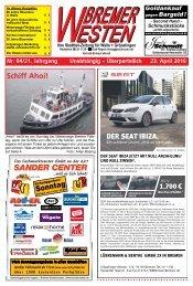 BREMER WESTEN - Ausgabe für Mai 2015
