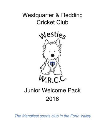 Westies Welcome Pack 2016
