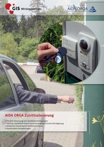AIDA-Zutrittssteuerung