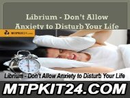 Librium - Don't Allow Anxiety to Disturb Your Life