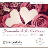 Stammbuch-Kollektion 2016/2017