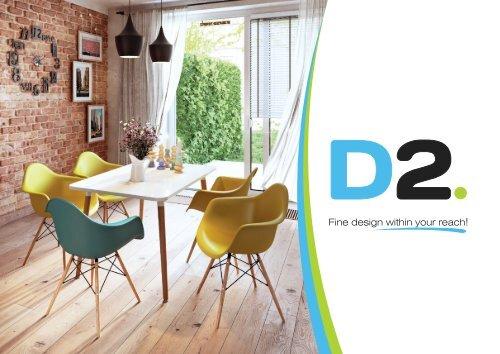 D2.DESIGN Inspired Furniture 2015