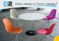 D2.DESIGN Meble Inspirowane 2014