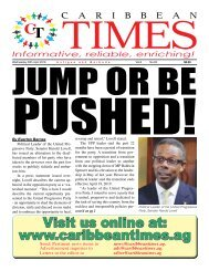Caribbean Times 93rd issue - Wednesday 20th April 2016