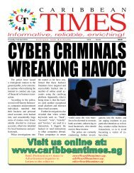 Caribbean Times 94th issue - Thursday 21st April 2016