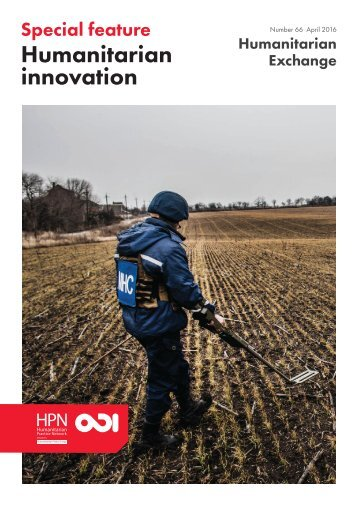 Humanitarian innovation