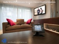 Audio Visual Installation/Maintenance Services - Dorset Electrical Solutions