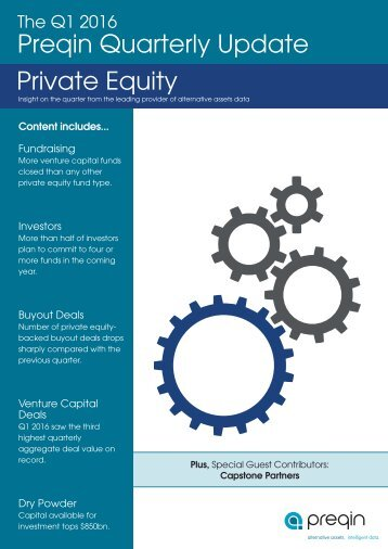 Preqin Quarterly Update Private Equity