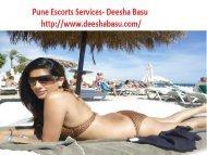 Deesha Basu Pune escorts Services
