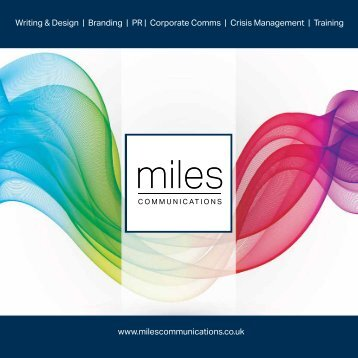 Miles Communications Brochure 2015